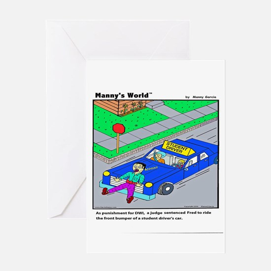 STUDENT DRIVER NEW Greeting Cards