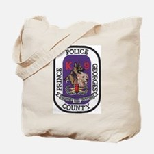 Prince Georges k9 Bomb Tote Bag