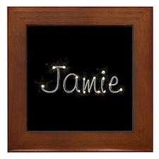 Jamie Spark Framed Tile