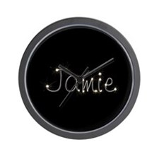 Jamie Spark Wall Clock