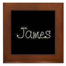 James Spark Framed Tile