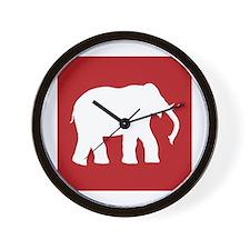 Cute Alabama crimson tide Wall Clock