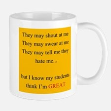 Im Great YELLOW Mug