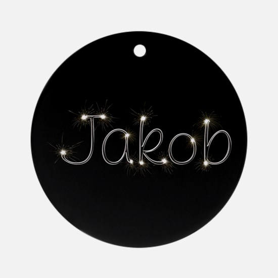 Jakob Spark Ornament (Round)