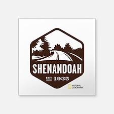 "Shenandoah Square Sticker 3"" x 3"""