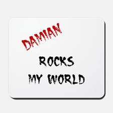 Damian Rocks Mousepad