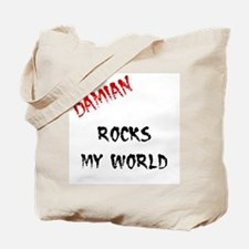 Damian Rocks Tote Bag