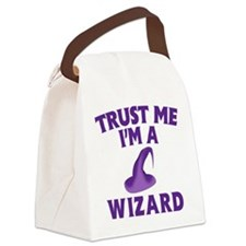 Trust Me I'm a Wizard Canvas Lunch Bag