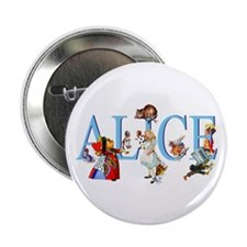"""Alice and Her Friends in Wo 2.25"""" Button (10 pack)"""