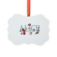 Alice and Her Friends in Wonderla Ornament