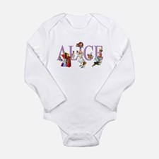 Alice and Her Friends Long Sleeve Infant Bodysuit