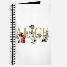 Alice and Her Friends in Wonderland Journal