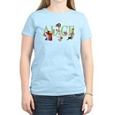 Alice and Her Friends in Won T-Shirt