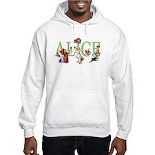 Alice and Her Friends in Wonderl Hoodie Sweatshirt