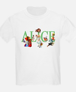 Alice and Her Friends in Wonder T-Shirt