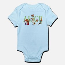 Alice and Her Friends in Wonderlan Infant Bodysuit