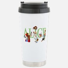 Alice and Her Friends i Stainless Steel Travel Mug