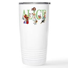 Alice and Her Friends i Travel Mug