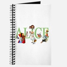 Alice and Her Friends in Wonderland Journal