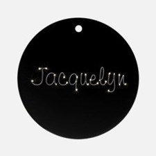 Jacquelyn Spark Ornament (Round)