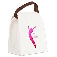 Leap of Faith Canvas Lunch Bag