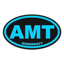 Andermatt Oval Stickers