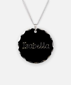 Isabella Spark Necklace Circle Charm