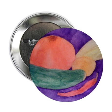 "FRUITS & VEGGIES 2.25"" Button"