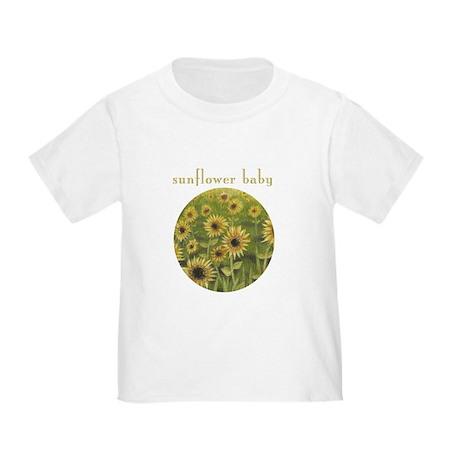 Sunflower Baby toddler tee shirt