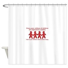 cooties Shower Curtain
