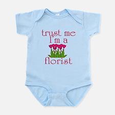 Trust Me I'm a Florist Infant Bodysuit