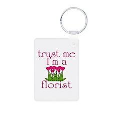 Trust Me I'm a Florist Keychains