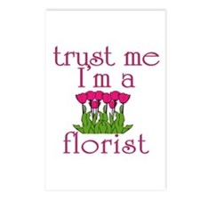 Trust Me I'm a Florist Postcards (Package of 8)