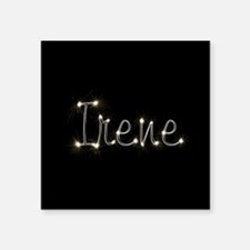 "Irene Spark Square Sticker 3"" x 3"""