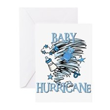 BABY HURRICANE Greeting Cards (Pk of 10)