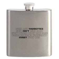 Tourettes Isnt Funny Flask