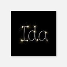 "Ida Spark Square Sticker 3"" x 3"""
