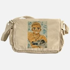 "Chet ""Cornbread"" Yoon Owns the Beach Messenger Bag"