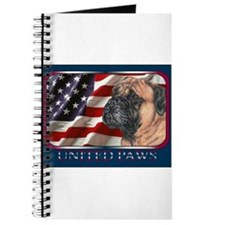 Bullmastiff Flag USA Journal