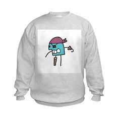 Stick Figure Pirate Sweatshirt