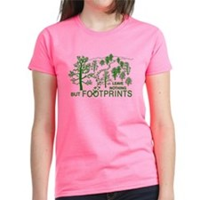 3-just footprints grn T-Shirt