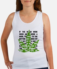 Weed Poem Women's Tank Top