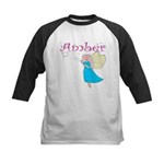 Amber Kids Baseball Jersey