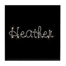 Heather Spark Tile Coaster