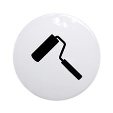 Paint roller Ornament (Round)