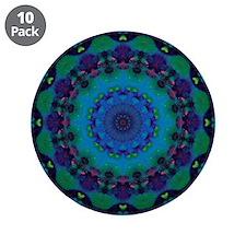 """Mellow Art Mandala 3.5"""" Button (10 pack)"""