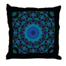 Mellow Art Mandala Throw Pillow