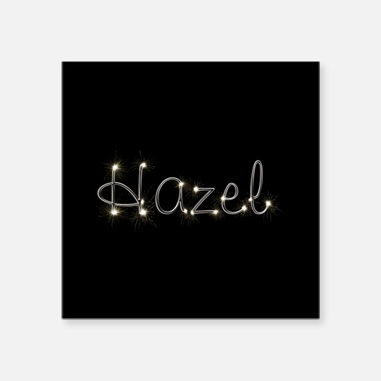 "Hazel Spark Square Sticker 3"" x 3"""