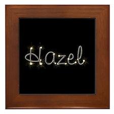 Hazel Spark Framed Tile