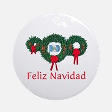 Guatemala Christmas 2 Ornament (Round)